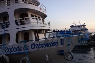Barco Cidade de Oriximiná