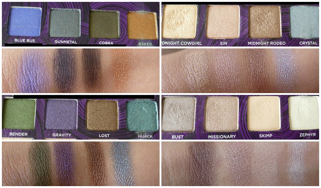 Urban Decay book of shadows iv 4 eye australian beauty review blog blogger ausbeautyreview swatch primer potion eyeliner mascara cosmetics makeup pretty beautiful swatch