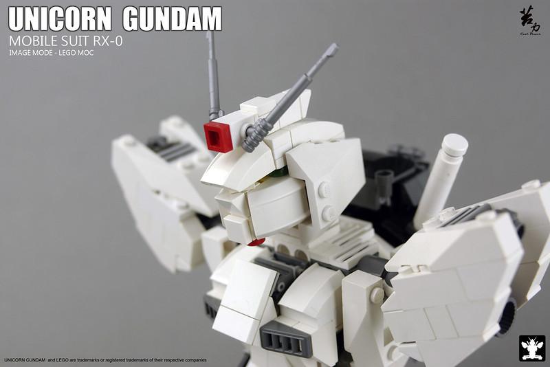 LEGO UNICORN GUNDAM 0010