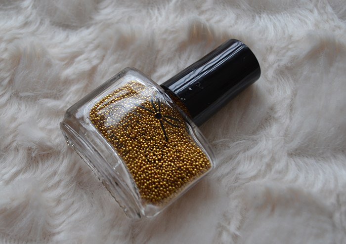 Caviar Pearls Metallic Gold