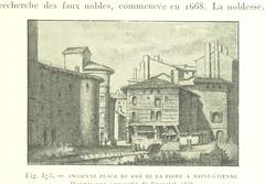 """British Library digitised image from page 301 of """"Nouvelle Histoire de Lyon et des provinces de Lyonnais, Forez, Beaujolais, etc [Illustrated by the author.]"""""""
