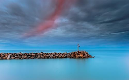 longexposure light sea cloud sunrise ramp seascapes 5 years another redcloud 澳大利亚 osullivanbeach 南澳大利亚州