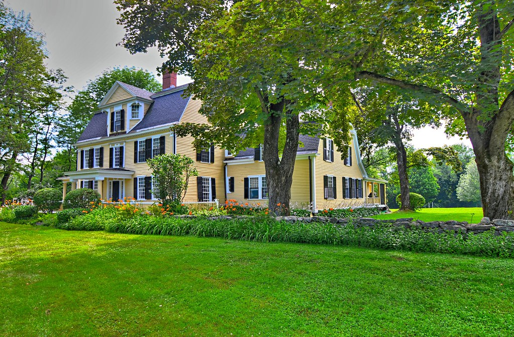 Peckham, William House - Petersham Common Historic District - Petersham MA