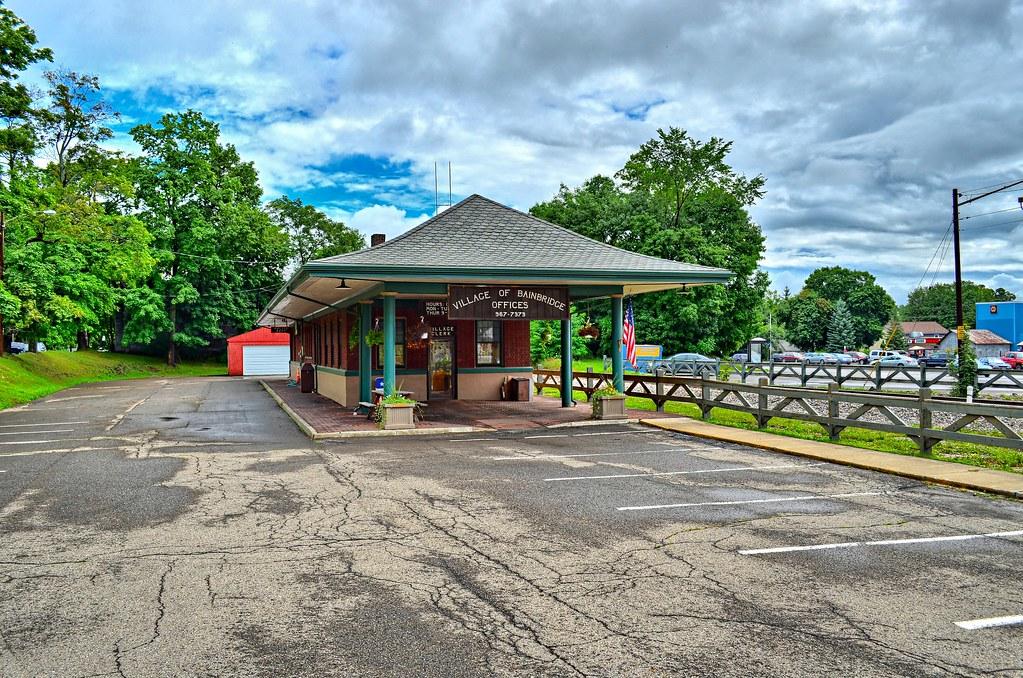 Delaware & Hudson Depot - Bainbridge NY
