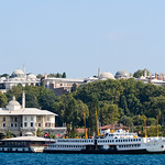 Topkapi Palace From The Bosphorus Strait by Keith Watson Photography