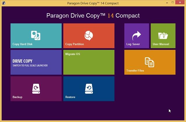 Paragon Drive Copy™ 14 Compact