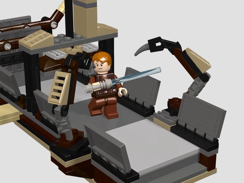 LDD MOC – Geonosian droid factory set - LEGO Star Wars