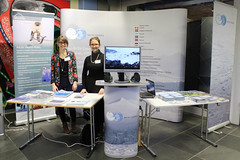 Arctic Counc booth