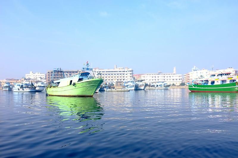 Ras El Bar boat