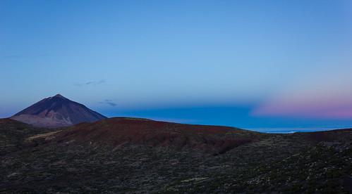 sunrise dawn canarias amanecer tenerife teide mountteide venusbelt cinturóndevenus