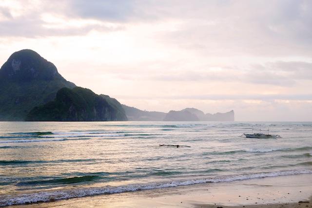 El Nido Palawan Bacuit Bay sunrise