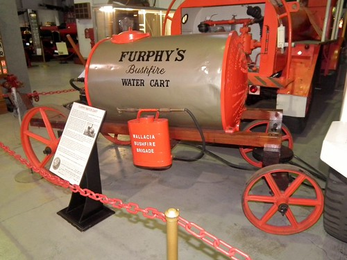 1942 Furphy water cart hand pump