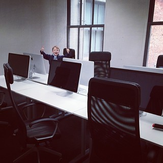 Thumbs up on the new space