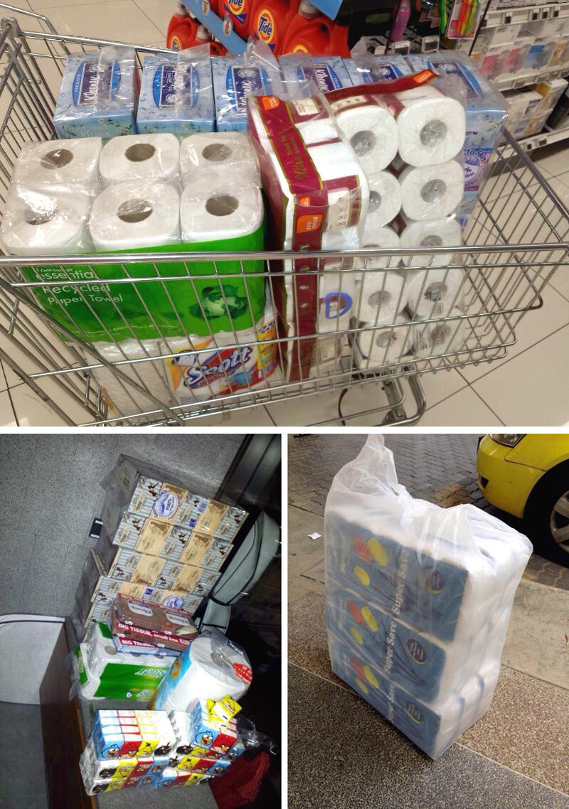 Raymond Phang Tissue Toilet Paper