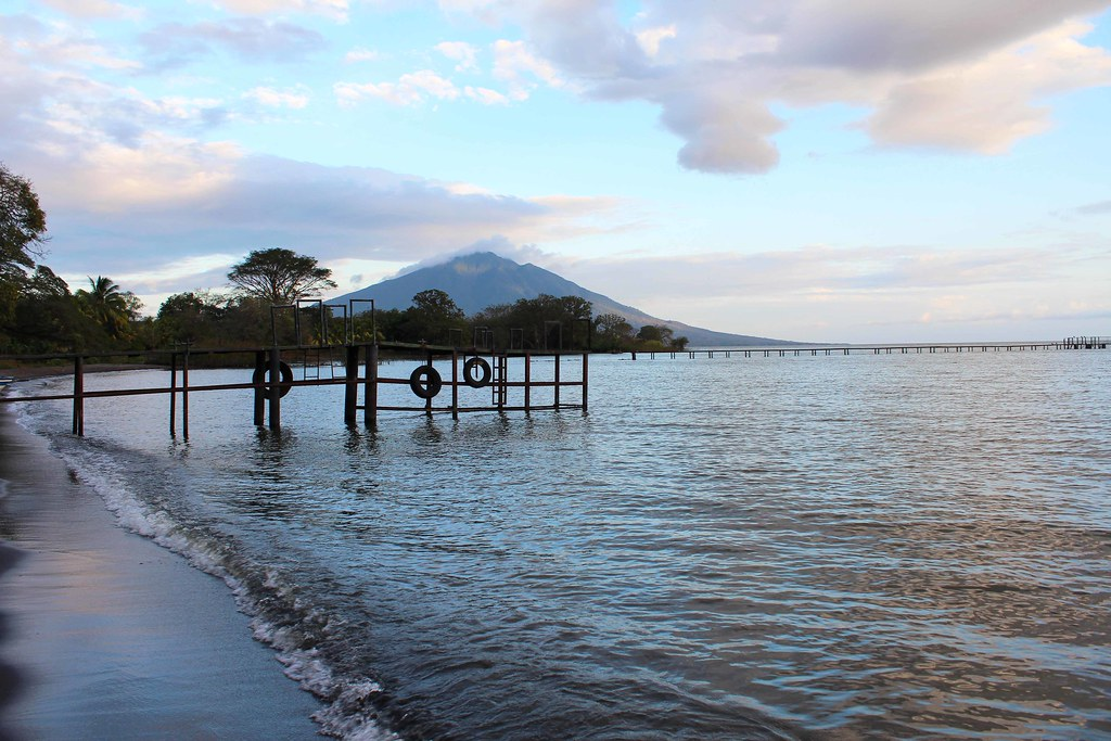 Ometepe morning beach