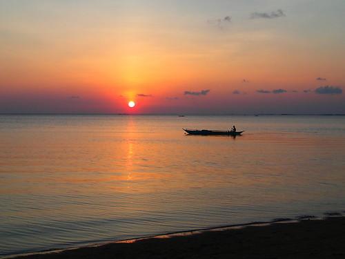 Sunset at Malatandang Beach Unisan, Quezon