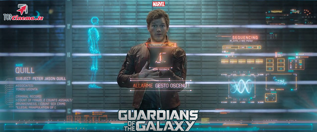 Chris Pratt in Peter Quill/Star Lord | Guardians Of The Galaxy