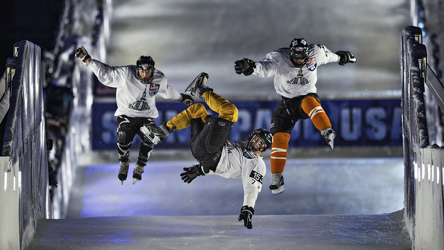 red bull crashed ice st. paul, mn - saint paul, minnesota 2014