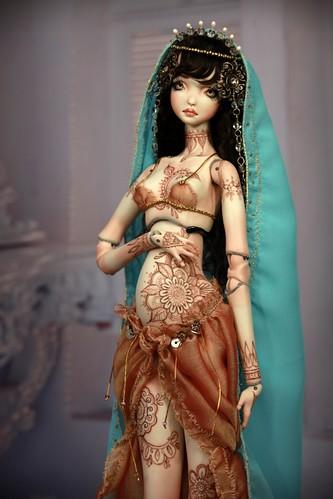 12797759273 08abb9df4f Meskhenet & Nekhebit Fine Art Porcelain BJD Dolls by Forgotten Hearts http://www.Forgotten Hearts.com