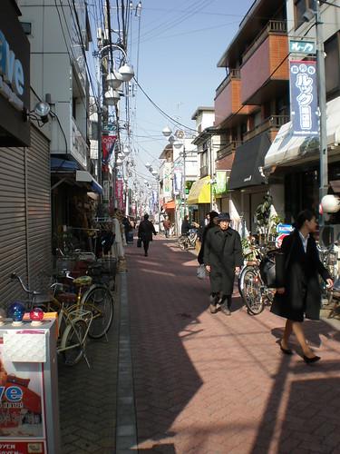 Street of Vintage Shops