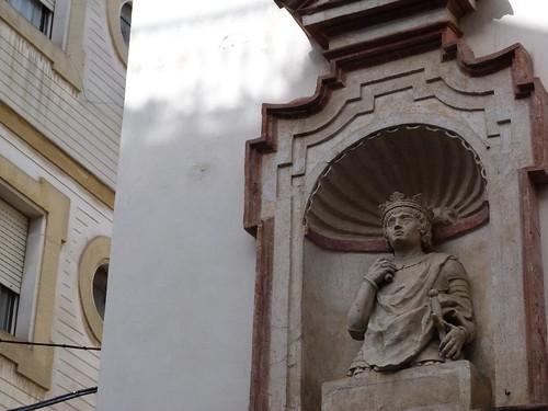 Cabeza del Rey Don Pedro I en Sevilla