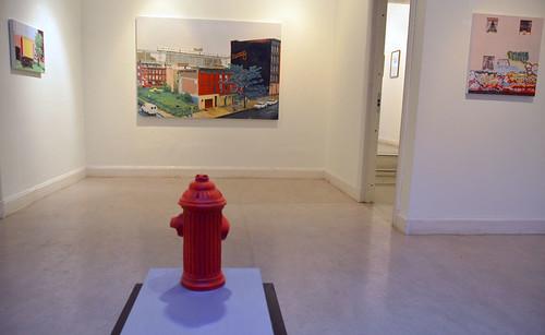 Pelle Perlefelt – motiv i miljön blir objekt och återförs i utställningen.