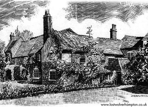 The wonderful artist Arthur Arrowsmith captures the serene glory of Graisley in 1949.