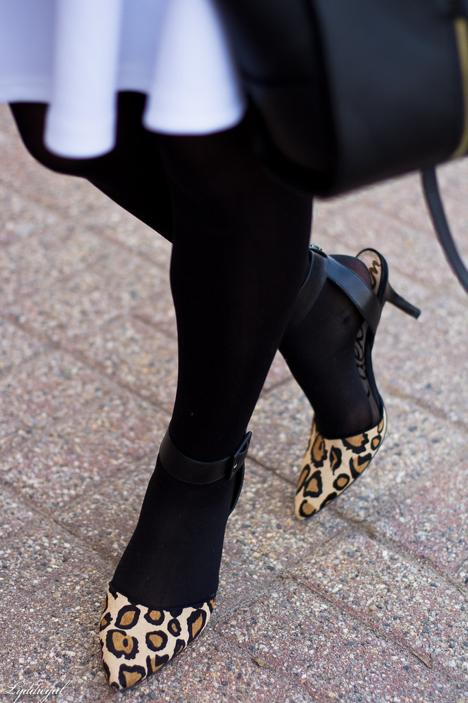 black leather jacket, white skirt, leopard pumps-7.jpg
