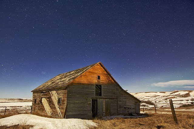 Old Barn starry night (formerly #1 most interesting now #3)