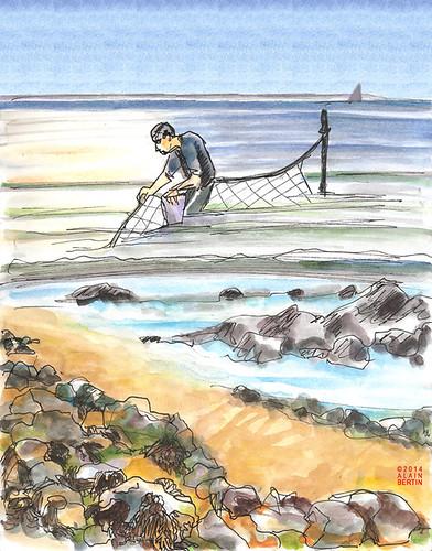 La Pêche est bonne ? by alain bertin