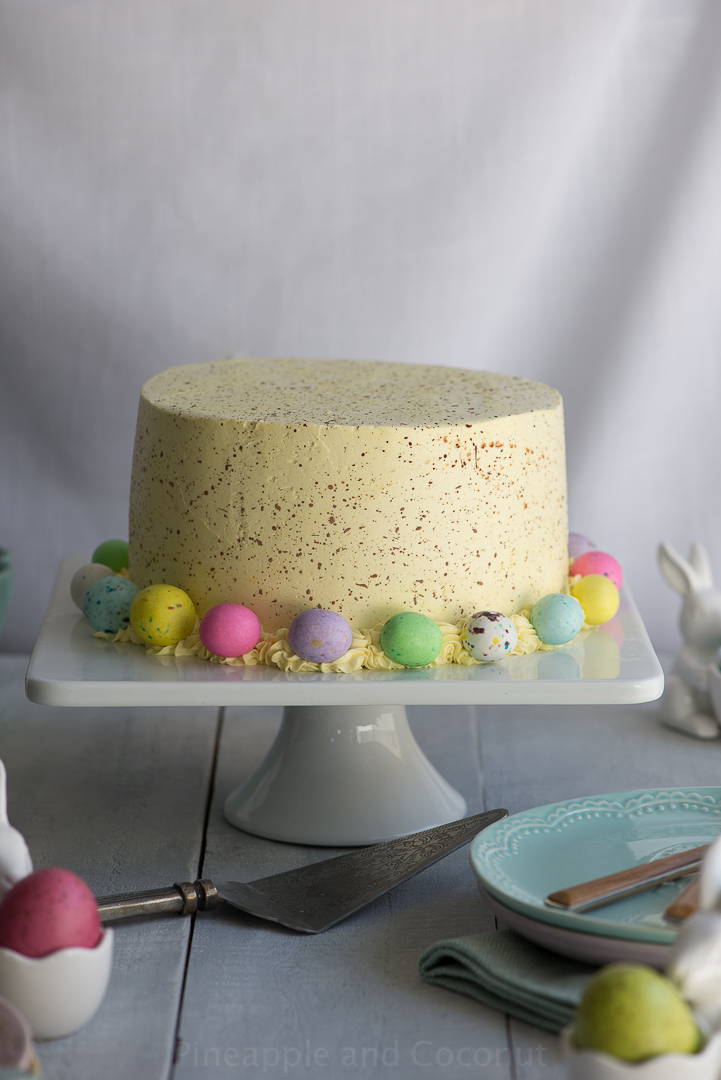 13295920405 f537d20a9d o Easter Coconut Lemon Cake