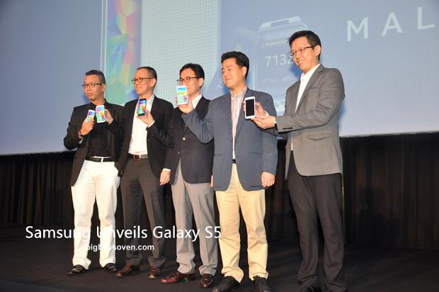 Samsung unveils Galaxy S5 1