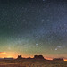Monument Valley panorama from Utah by Sergio Garcia Rill