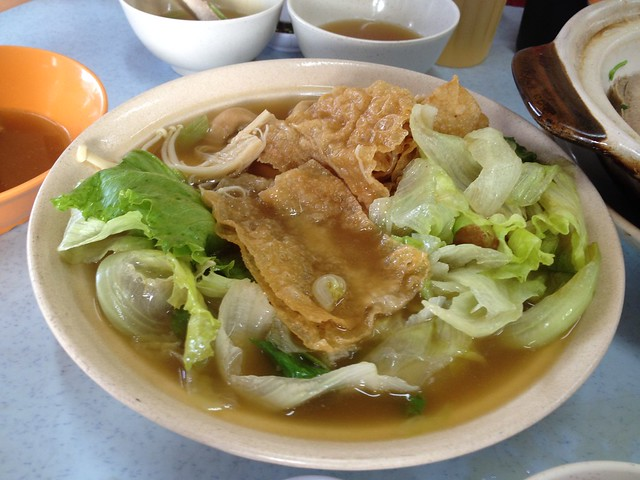 Hing Kee Bak Kut Teh - Soup with Bean Curd