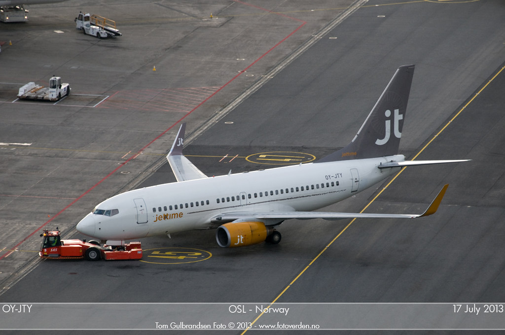 OY-JTY - B737 - Jet Time