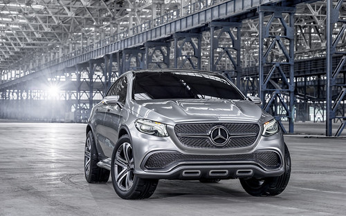 2014 Mercedes-Benz Concept Coupe SUV Picture gallery