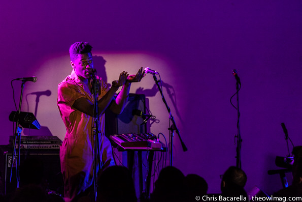 Moses Sumney @ Hollywood Forever Masonic Lodge, LA 5/5/14