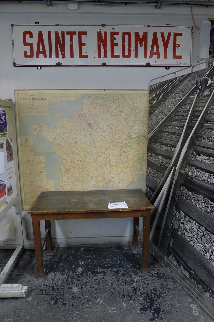 Les trains miniatures de la Gare de l'Est - L'association française des amis des chemins de fer - Paris