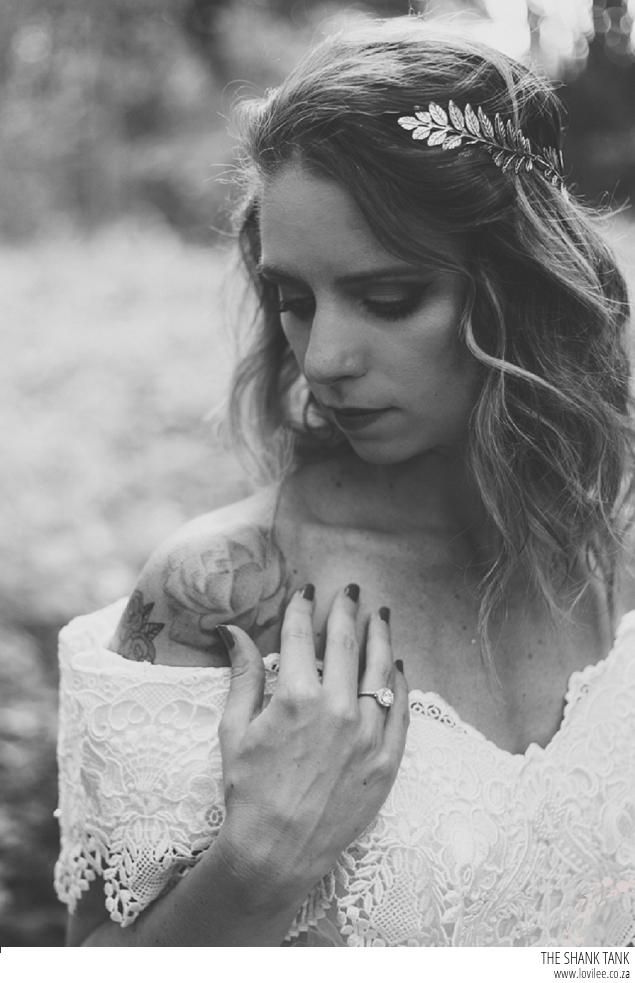 A dark fairytale styled shoot