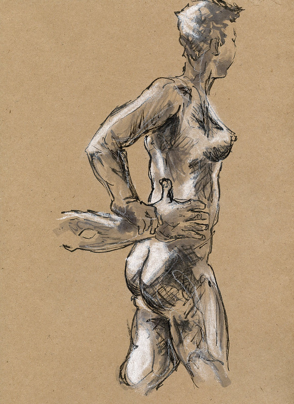 Life Drawing - Sandy Hill, 2015 -1