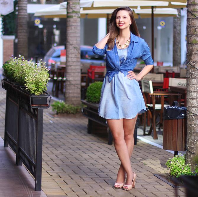 01-1 vestido jeans e 3 looks blog sempre glamour