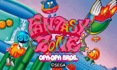 SEGA 3D Classics - Fantasy Zone