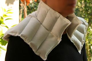 Tuto couture - bouillotte en graines de lin pour les cervicales - Etape 15