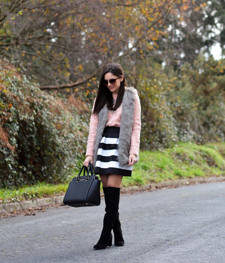 Zara_chaleco_vest_ootd_choies_botas altas_02