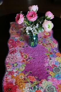Floral Collage Table Runner