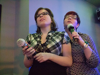 Judith and Natalie's Wedding Karaoke