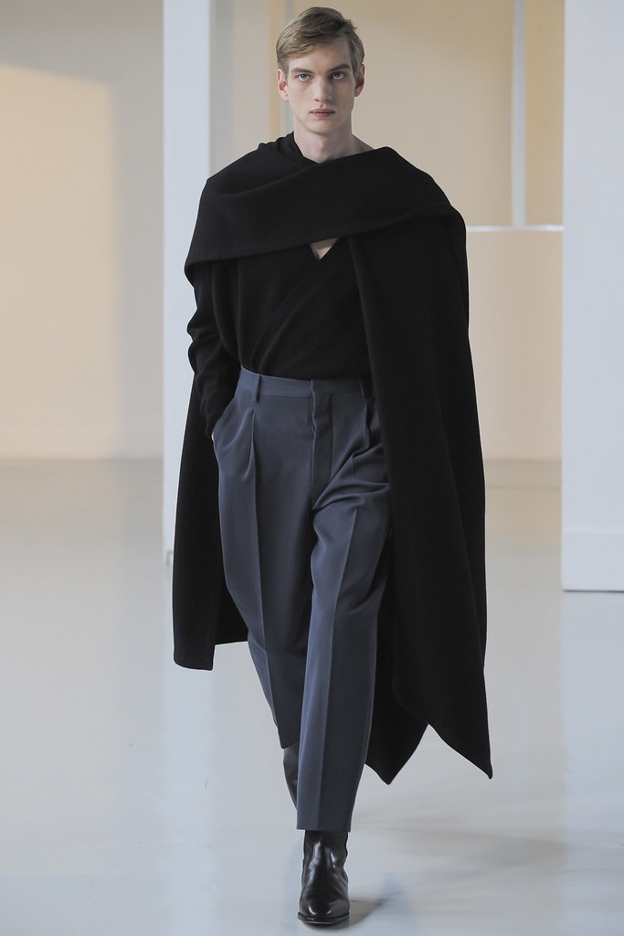 Paul Boche3636_FW15 Paris Christophe Lemaire(VOGUE)