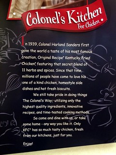 Kentucky Fried Chicken Comic Sans