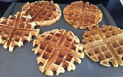 Good morning waffles all cooked