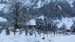 Grindelwald Church Graveyard